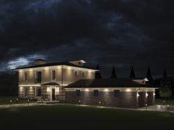 Дизайн дома с гаражом на Новорижском шоссе 7