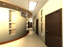 Дизайн офиса медицинской клиники 14