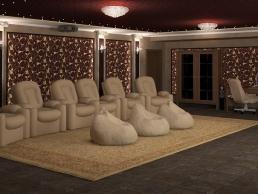 дизайн домашнего кинотеатра 1