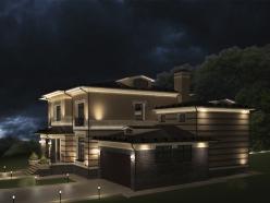 дизайн дома на Новорижском шоссе 1