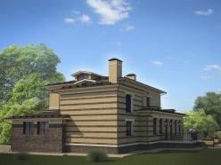 дизайн дома на Новорижском шоссе 12