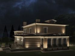 дизайн дома на Новорижском шоссе 3