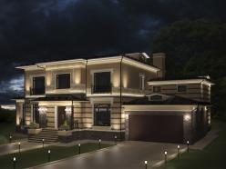 дизайн дома на Новорижском шоссе 4