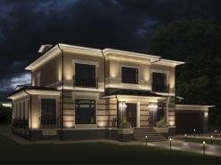 дизайн дома на Новорижском шоссе 5