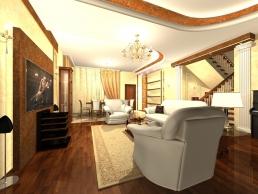 Дизайн Гостиной 17