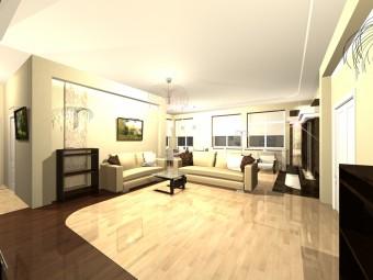 Интерьер квартиры в Заречье с интересной концепцией