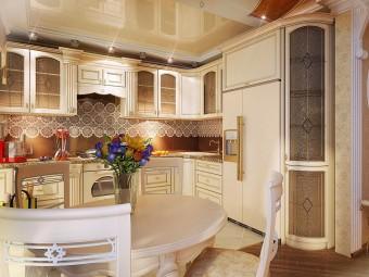 Утонченность классики в дизайне кухни