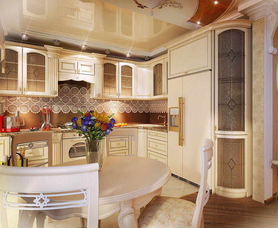 Кухни дизайн проекты классика