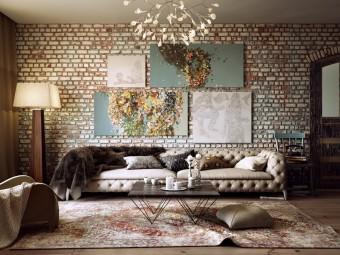 Атмосфера уюта и комфорта: Картины в интерьере