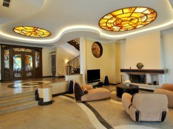 Атмосфера уюта и комфорта: Натяжные потолки