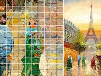 Атмосфера уюта и комфорта: Мозаика в интерьере
