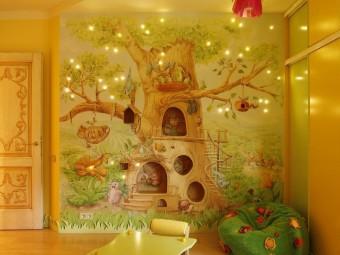 Атмосфера уюта и комфорта: Дизайн детской комнаты