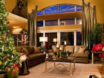 Атмосфера уюта и комфорта: Новогодний дизайн интерьера