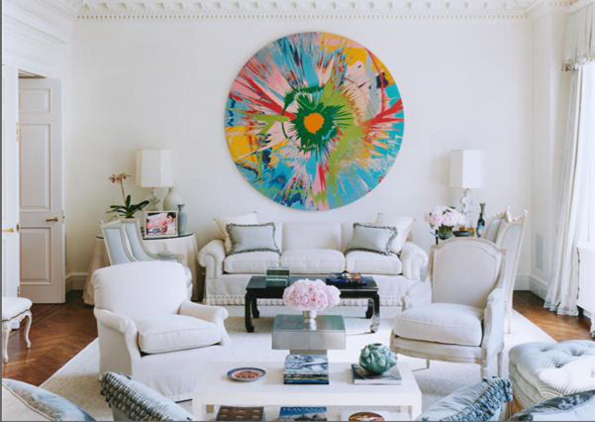 Картины на стенах в дизайне