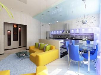 Студийная планировка квартиры