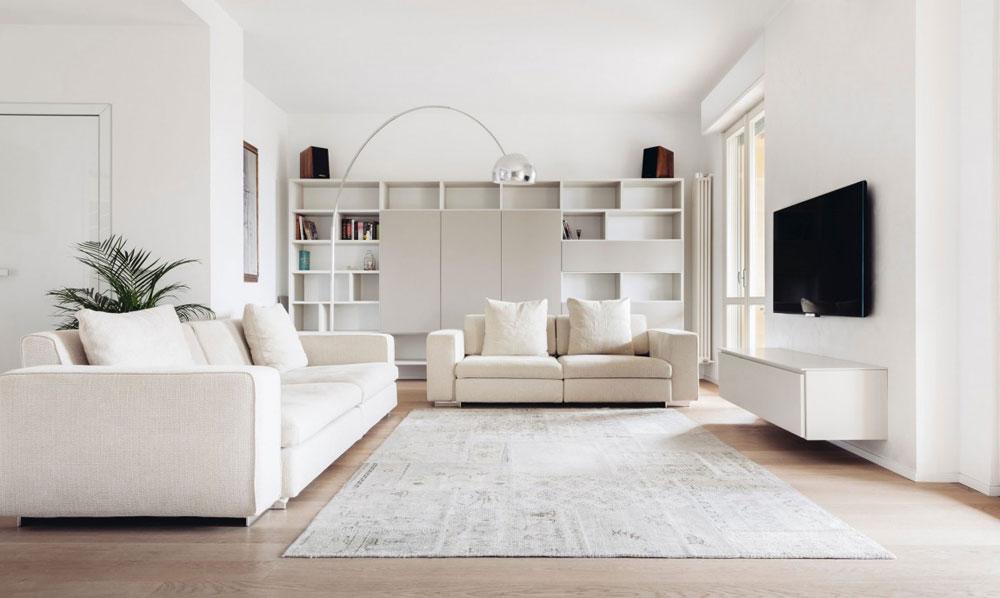 Дизайн интерьера для прямоугольной гостиной (11 фото)