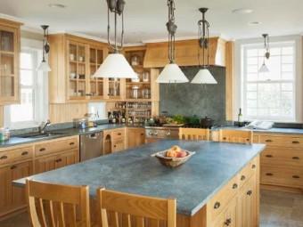 Модернизация кухни: Столешницы из стеатита