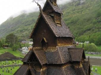 «Мифическая» архитектура Норвегии