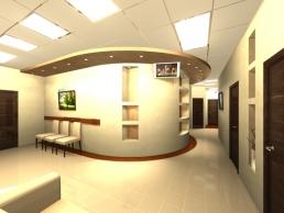 Дизайн офиса медицинской клиники 19