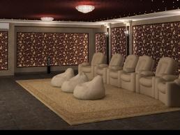 дизайн домашнего кинотеатра 5