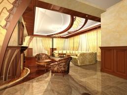 дизайн гостинной 5