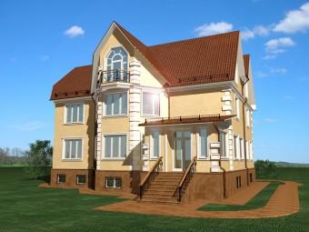 Реконструкция особняка на Рублёво-Успенском шоссе