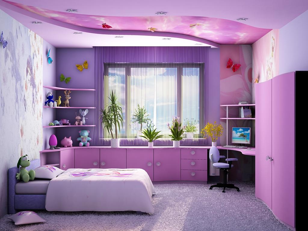 Чудесные идеи для интерьера детской комнаты