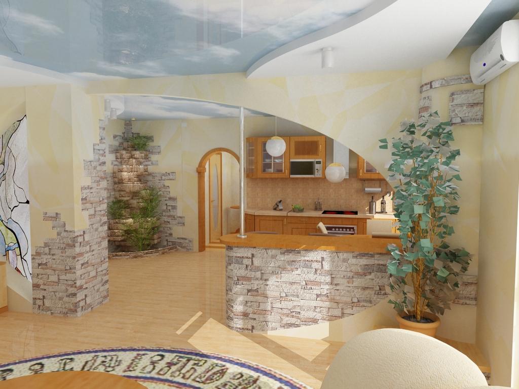 Атмосфера уюта и комфорта: Квмень в интерьере